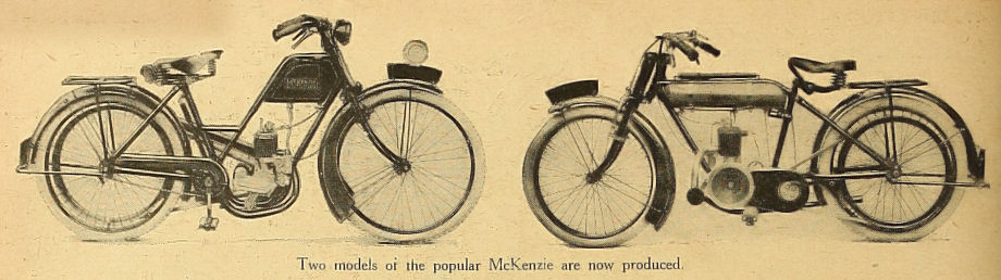 Two models of the popular McKenzie are now produced.