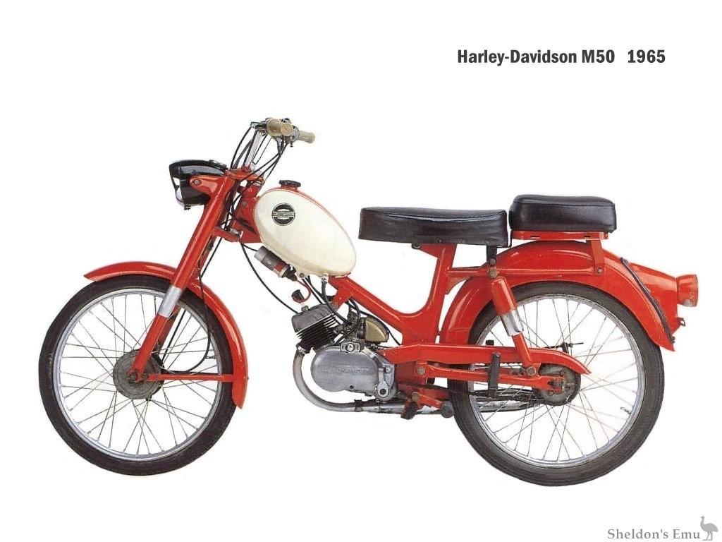 Aermacchi-HD 1965 M50 Moped