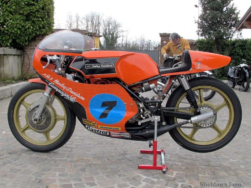Harley Davidson: 1974 Aermacch Harley-Davidson RR350