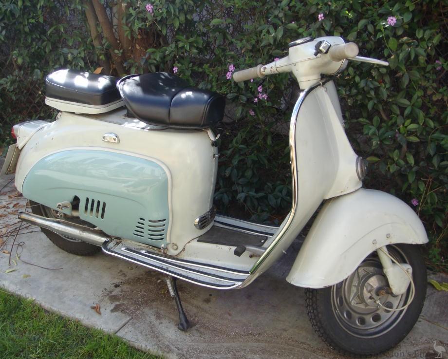 Agrati Garelli Capri 1961