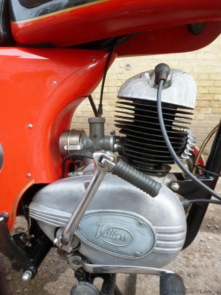 1960 Ambassador 3 Star Special 197cc Villiers Engine