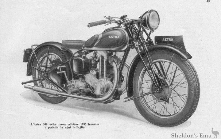 Astra 1935 500cc