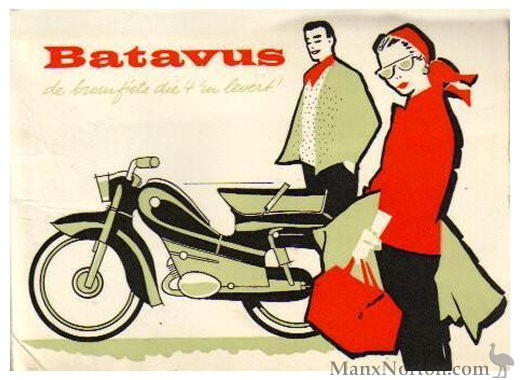 Batavus 1959 Bilonet Owners Manual batavus moped parts diagrams 1976 Batavus HS50 eBay at soozxer.org
