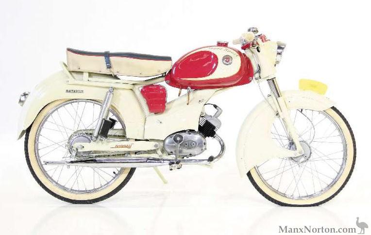 Batavus 1959 Bilonet Super Sport 50cc | 764 x 484 jpeg 69kB