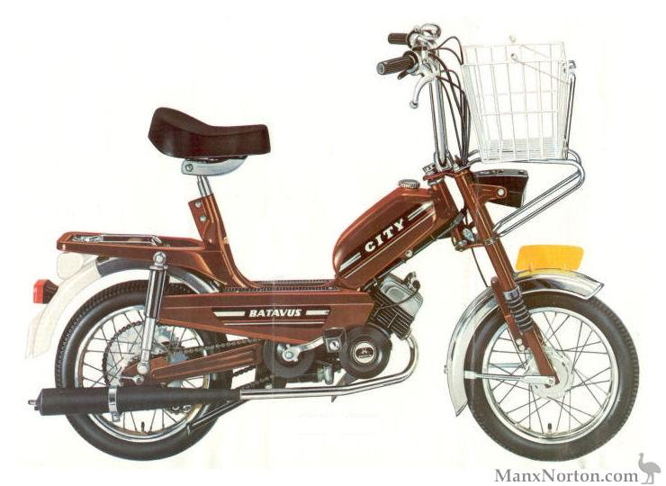 Onwijs Batavus 1977 City Moped OX-99