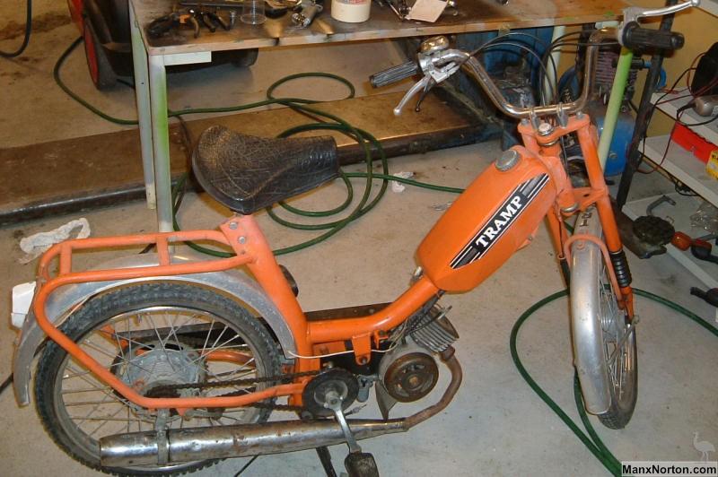 Batavus Moped Manual Batavus M48 Tramp Moped