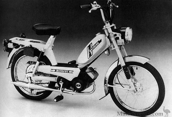 Batavus Moped Manual Batavus va 48cc Moped