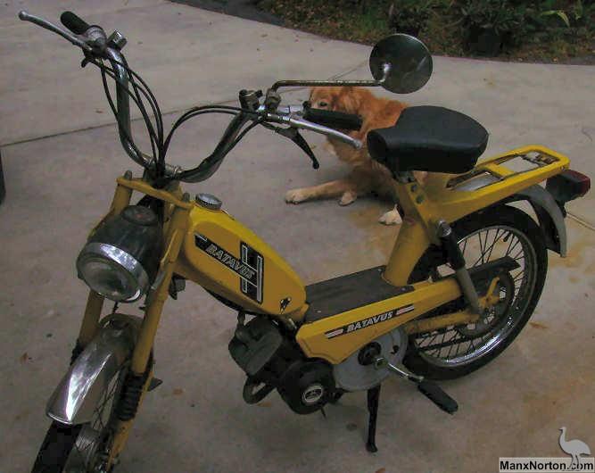 Batavus Moped 48cc 1976