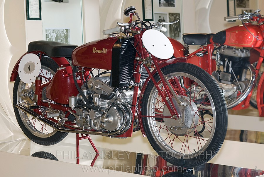 1942 Benelli 250cc Four Supercharged GP Racer