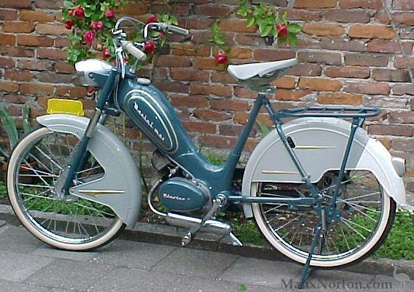 Uitgelezene Berini M21 1955 restored DQ-67