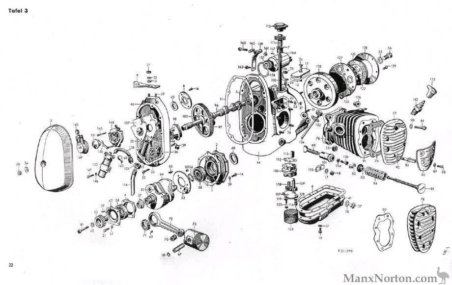 BMW R51R71    Diagram