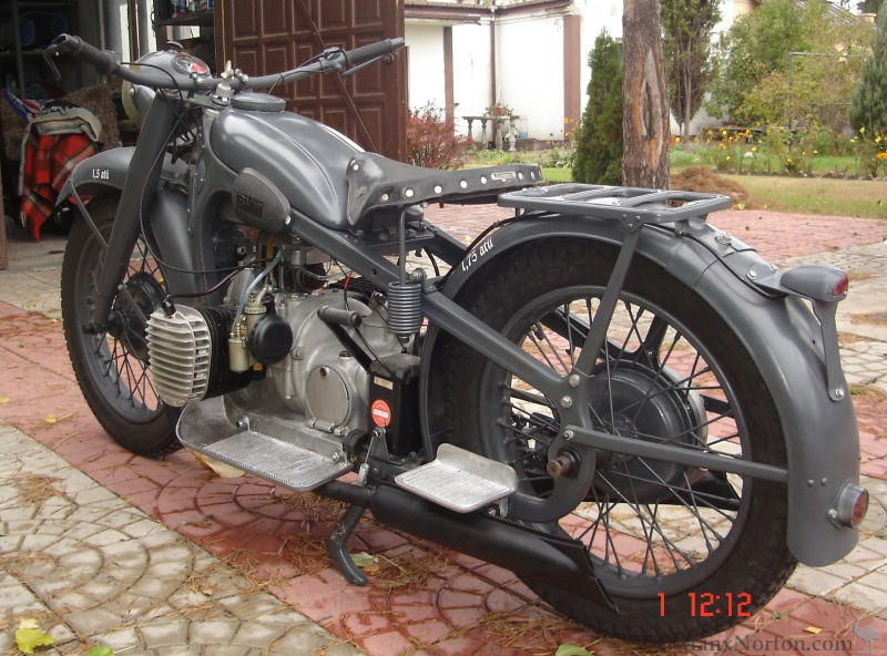 Bmw R12 Wehrmacht Military Motorcycle