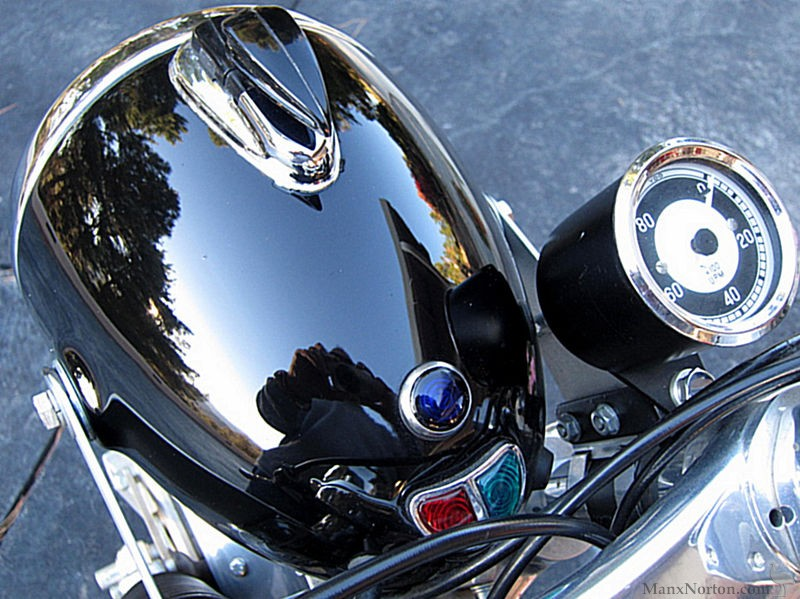 Bmw R602 Cafe Racer Headling And Tacho