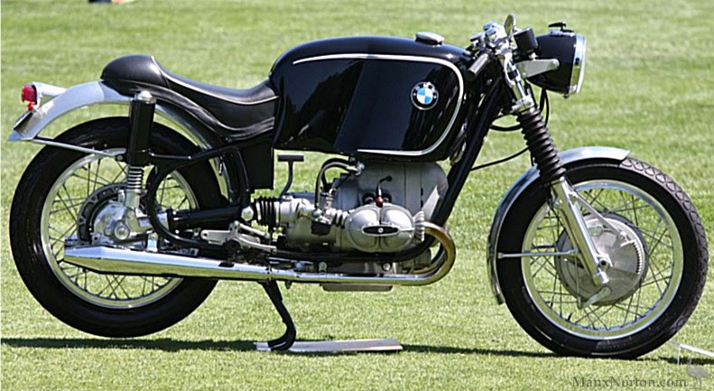 Bmw R602 Cafe Racer On Show Day