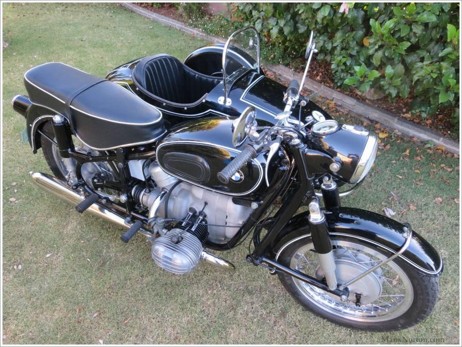 bmw r60 2 1960 with tilbrook sidecar. Black Bedroom Furniture Sets. Home Design Ideas