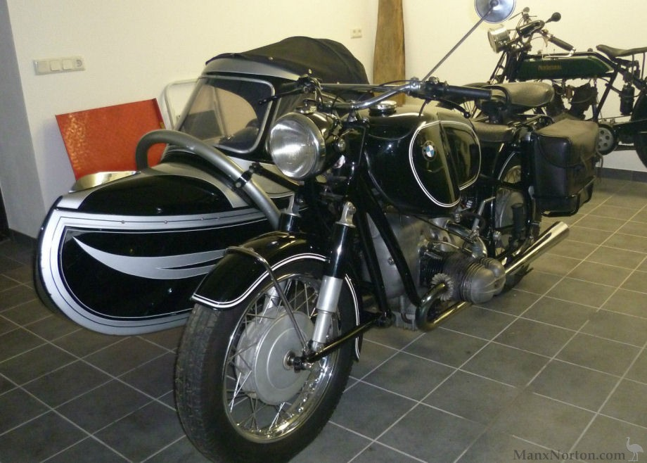 Bmw R69s With Felber Sidecar