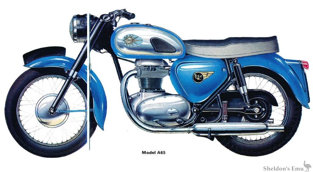 BSA 1965 A65 Star