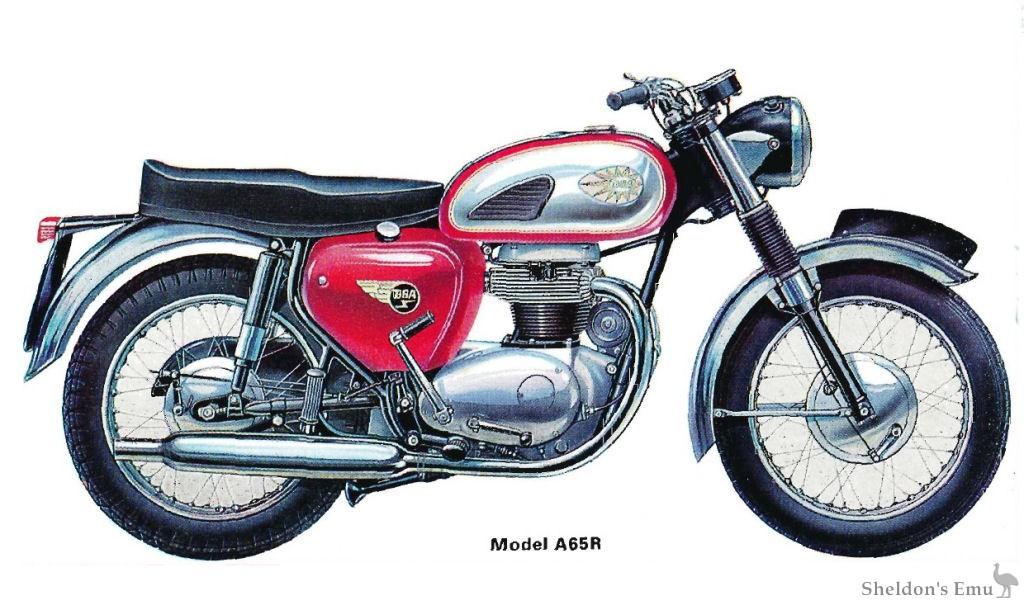 BSA 1965 A65R Rocket
