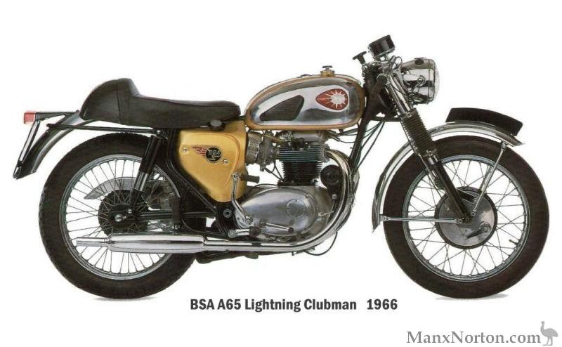 BSA A65 1965