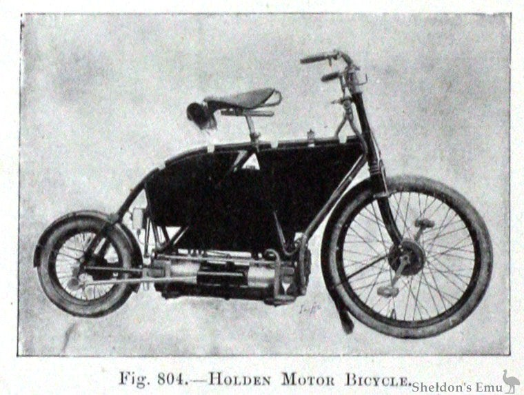 Holden Wikig on Shaft Drive Motorcycle