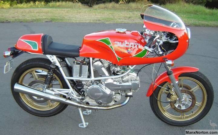 Vintage Ducati Monster