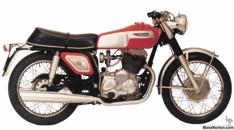 Ducati 500cc Parallel Twin