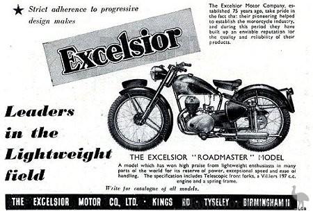 Excelsior Roadmaster R1 1952