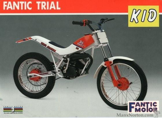 Fantic Trials 50cc 1989