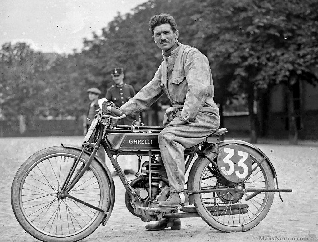 Garelli 1922 350cc Grand Prix De Strasbourg