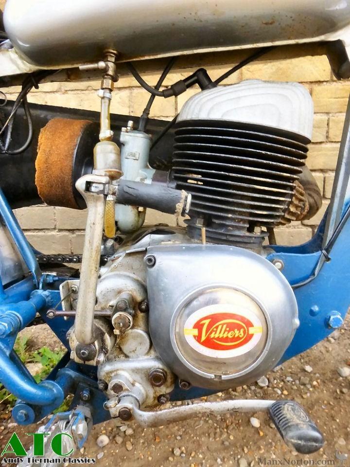 1960 Greeves Hawkstone Villiers 250cc