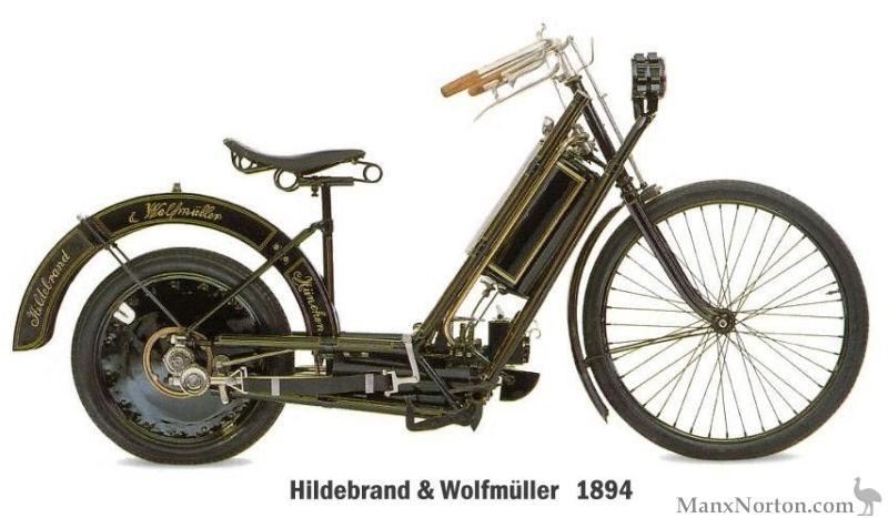 Hildebrand Amp Wolfmuller 1894