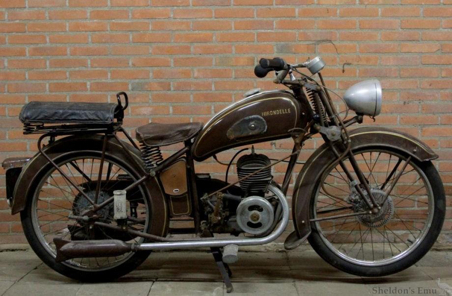 Hirondelle 125cm3 1948