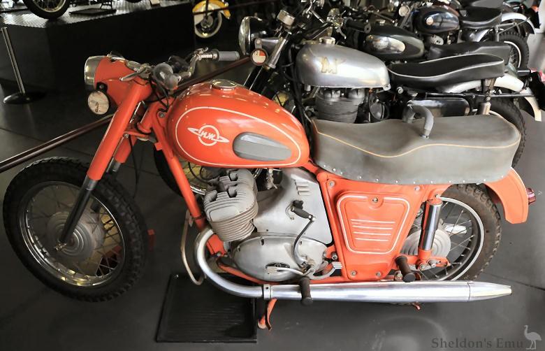 National Motorcycle Museum >> IZH Jupiter 1962