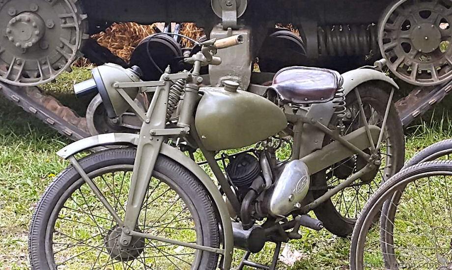 James 1943 Ml 125cc Military