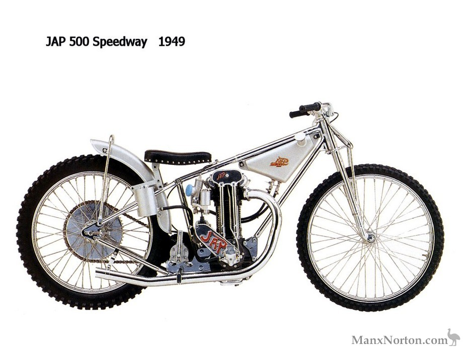 Jap Speedway Bike 1949