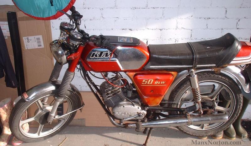 KTM 50 RLW