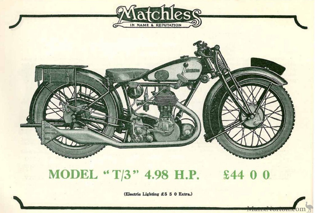 Matchless 1929