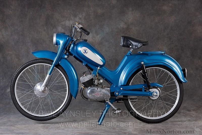 Morini 50cc Moped 1960s Lhs