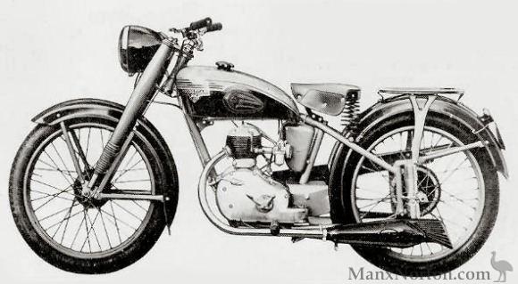 motobecane 1945 d45 125cc