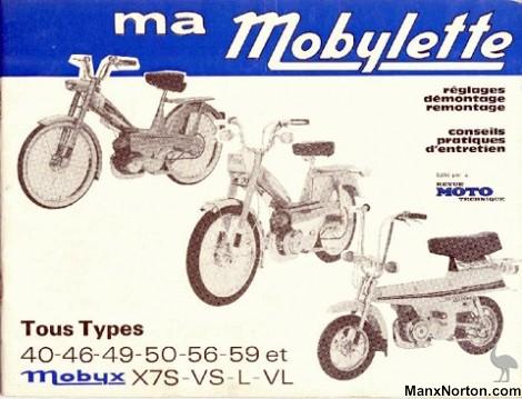 Motobecane Mobylette Types 40 on et Mobyx
