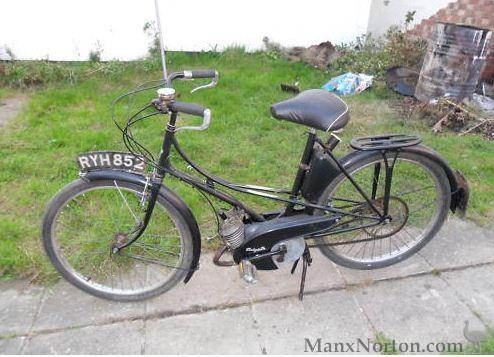 Motobecane Mobylette AV3 1949