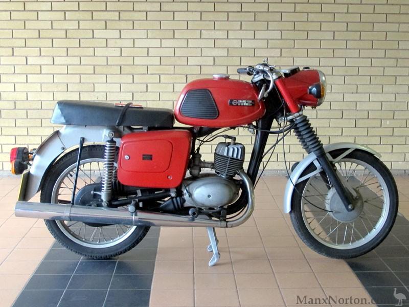 MZ britanniques MZ-1981-TS125-Alpine