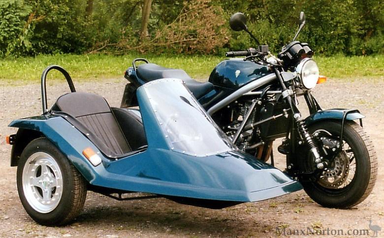 Mz Skorpion With Sidecar