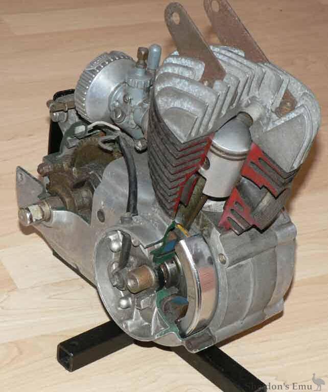 Nassetti Engine Cutaway on 49cc Engine Diagram