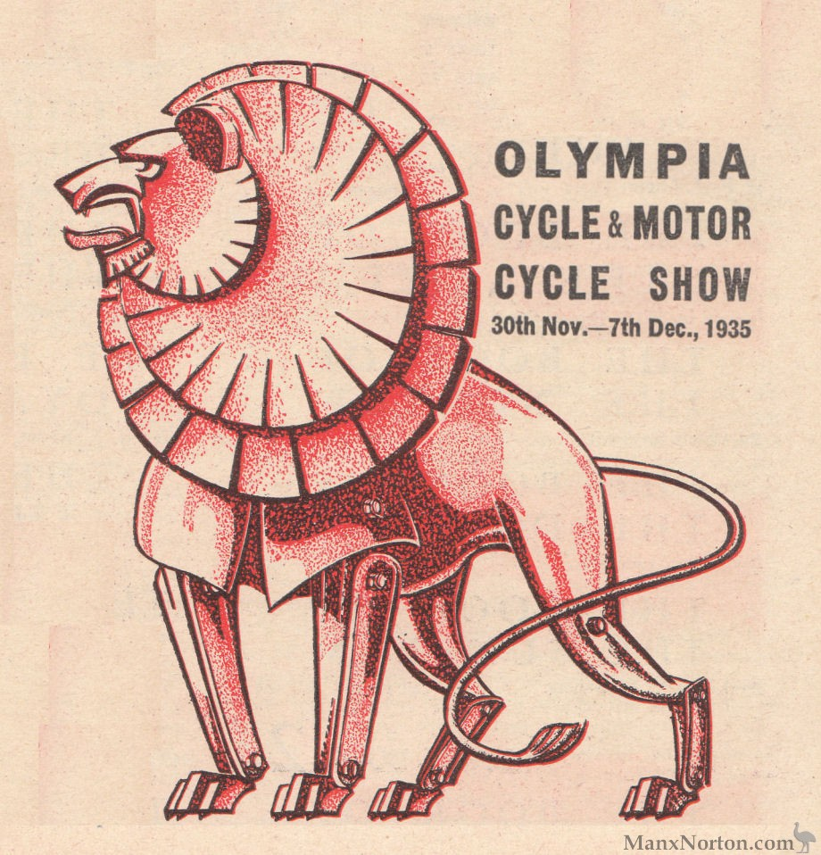 Olympia Show 1935