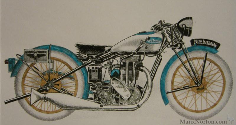 New Imperial Motorcycles on