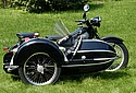 Nimbus 1952 with Bender Sidecar