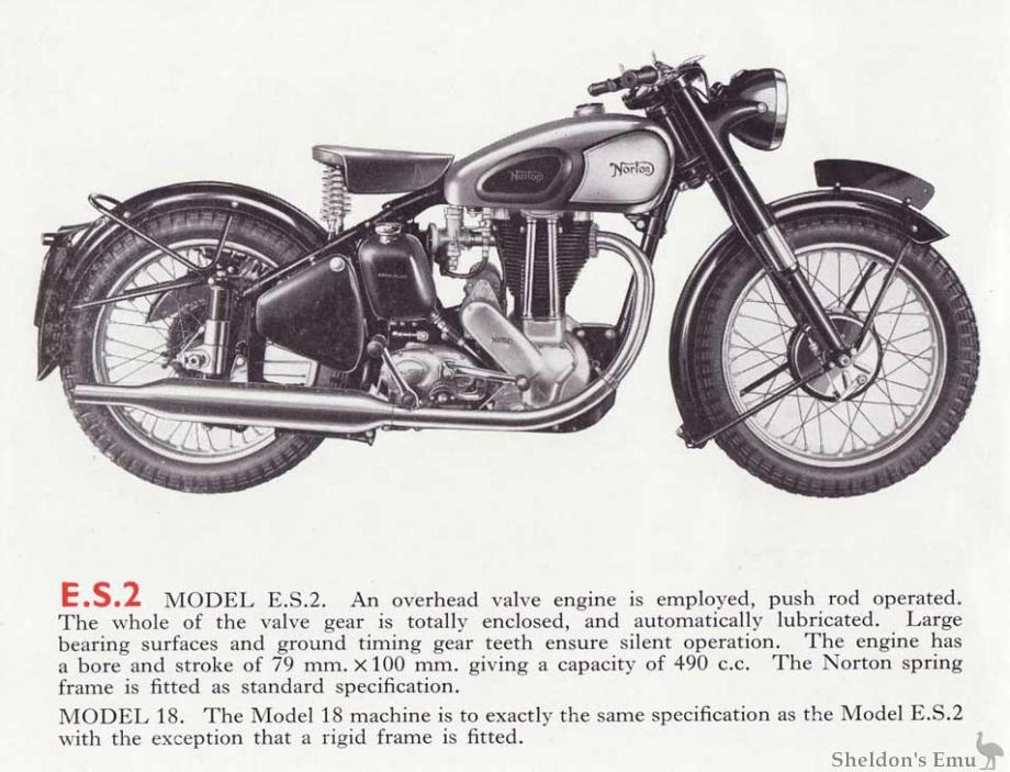 norton es2 1952