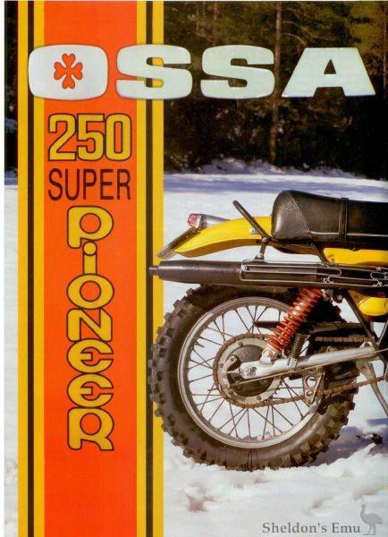 Ossa Pioneer on 150cc Engine