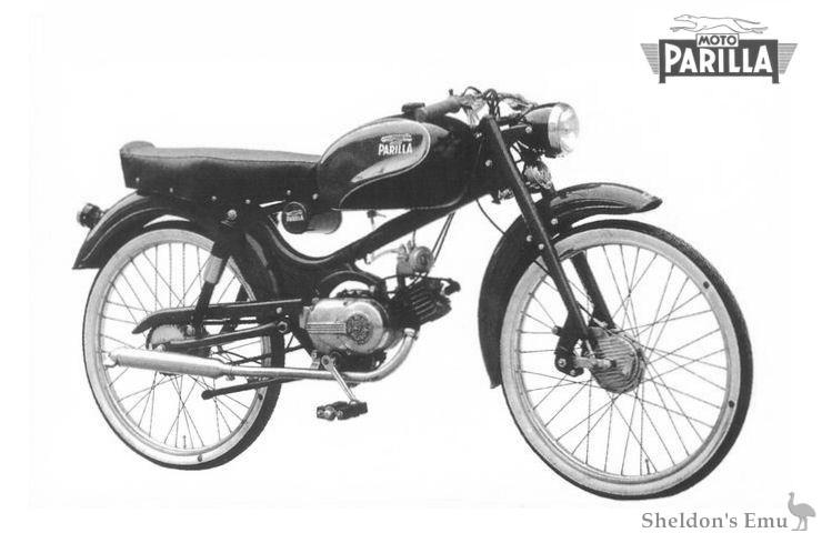 Parilla 1955 Parillino 49cc Twostroke